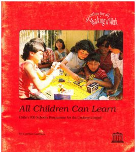 Book Cover: Education for all Making it Work - All Children Can Learn