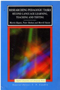 Book Cover: Researching Pedagogic Tasks - Second Language Learning