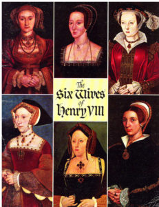 Book Cover: The  six wives  of henry VIII