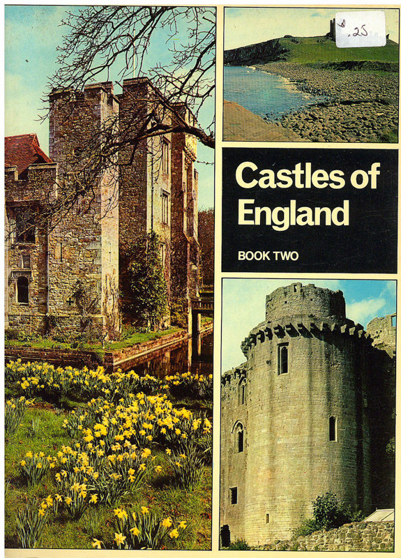 Book Cover: Castles of England