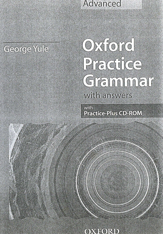 Book Cover: Oxford Practice Grammar