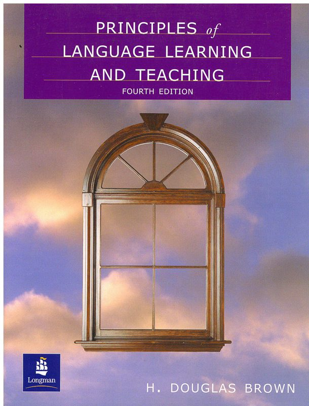 Book Cover: Principles   of Language Learning and Teaching