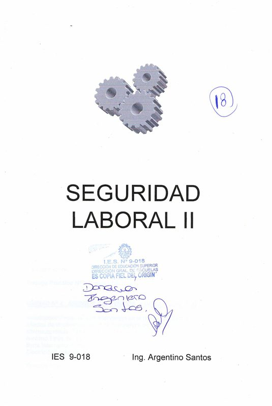 Book Cover: Seguridad II