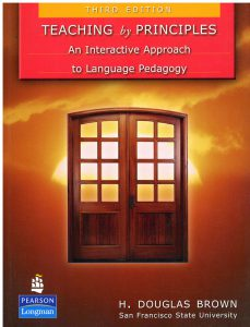 Book Cover: Teaching  by Principles -An Interactive Approanch to Language Pedagogy
